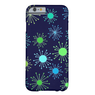 Customizable Retro Starburst Barely There iPhone 6 Case