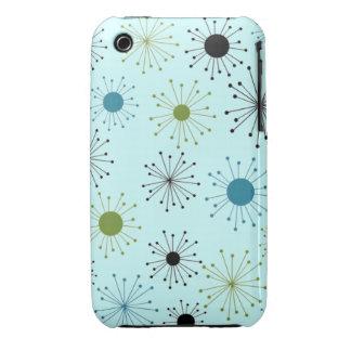 Customizable Retro Starburst iPhone 3 Case