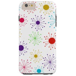 Customizable Retro Starburst Tough iPhone 6 Plus Case