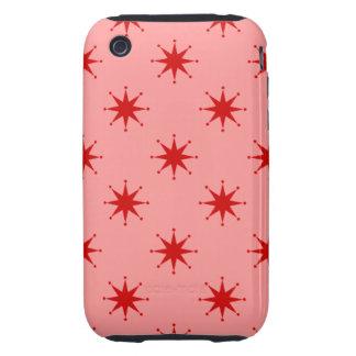Customizable Retro Stars iPhone 3 Tough Cases