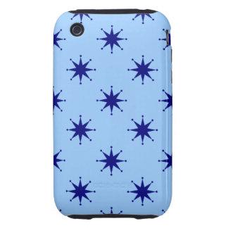 Customizable Retro Stars Tough iPhone 3 Cases