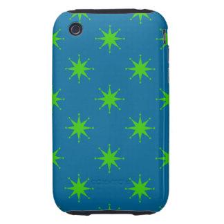 Customizable Retro Stars iPhone 3 Tough Covers