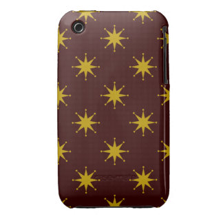 Customizable Retro Stars iPhone 3 Case-Mate Cases