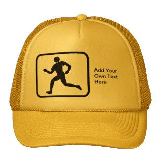 Customizable Runner Logo Cap