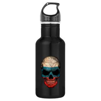 Customizable Russian Flag Skull 532 Ml Water Bottle