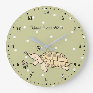 Customizable Russian Tortoise Clock