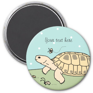 Customizable Russian Tortoise Magnet