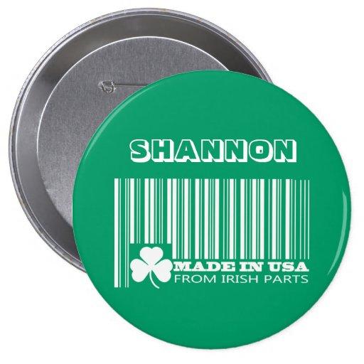 Customizable Saint Patrick's Day Fun Buttons Pin