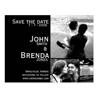 Customizable Save the Date Announcement Postcard