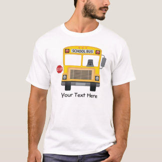 Customizable School Bus T-Shirt