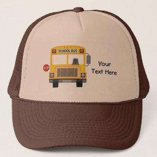 Customizable School Bus Trucker Hat