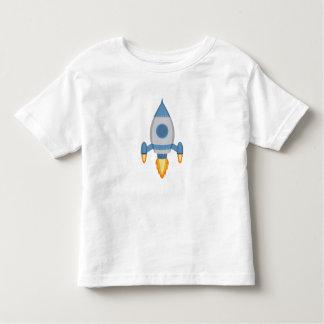 Customizable shirt with a rocket ship