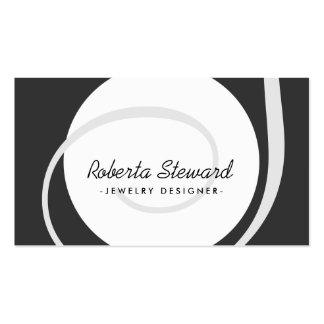 Customizable Simple Ball Jewelry Designer Card Pack Of Standard Business Cards