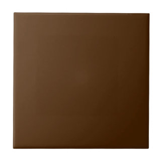 Customizable Simple Red Brown Tile