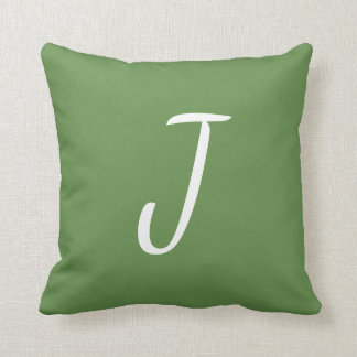 Customizable Single Letter Pillow