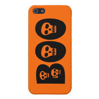 """Customizable Skully """"Boo"""" Case For The iPhone 5"""