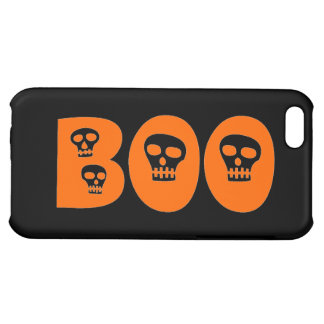 "Customizable Skully ""Boo"" iPhone 5C Cases"