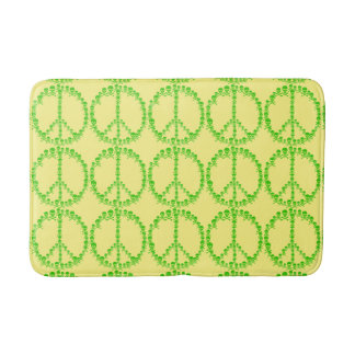 Customizable Skully Peace Bath Mat