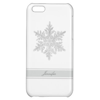 Customizable Snowflake Cover For iPhone 5C
