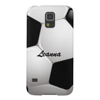 Customizable Soccer Ball Galaxy S5 Case