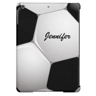 Customizable Soccer Ball iPad Air Cover