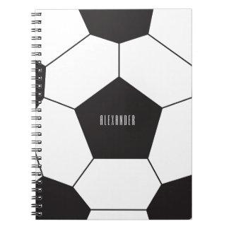 Customizable soccer ball ı notebook