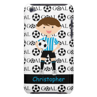 Customizable Soccer Boy Goal 1 iPod Touch Cover