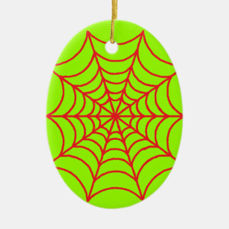Customizable Spider Webs Christmas Ornament