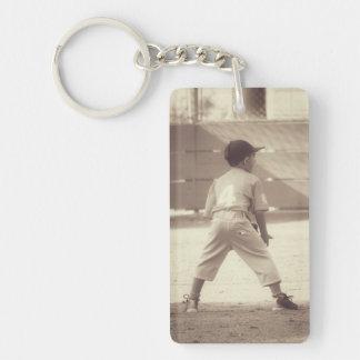 Customizable Sports Key Ring
