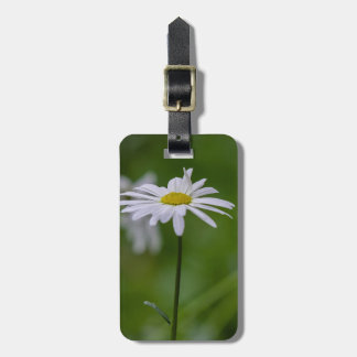 Customizable Spring Daisy Luggage Tag
