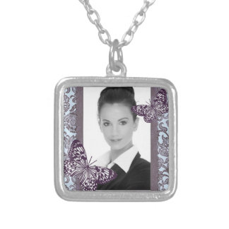 Customizable Square Necklace_Small Custom Necklace