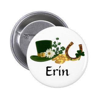 CUSTOMIZABLE St. Patrick's Day Design 6 Cm Round Badge