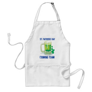 Customizable St. Patricks Drinking Team Standard Apron