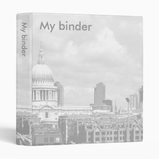 Customizable: St Paul's Cathedral Vinyl Binders