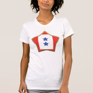 Customizable Star 2 Blue Stars Shirt