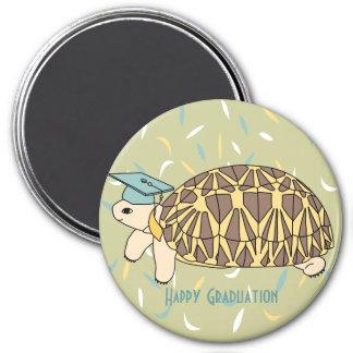Customizable Star Tortoise Graduation Magnet 2
