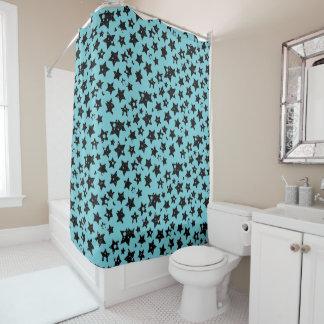 customizable stars shower curtain