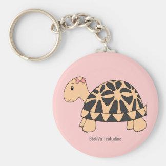 Customizable Stella Star Tortoise Keychain