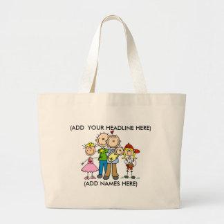 Customizable Stick Family One Bag