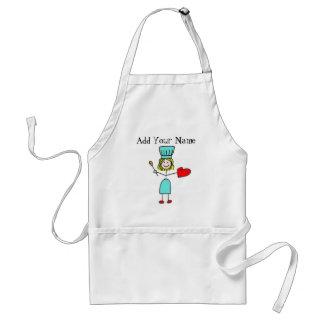 Customizable Stick Figure Chef Apron