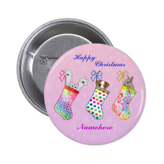 Customizable: Stocking fillers Buttons