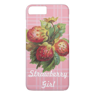 Customizable Strawberry Girl iPhone 8 Plus/7 Plus Case
