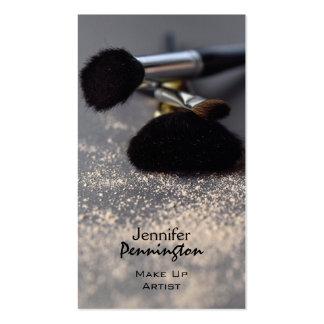 Customizable stylish make up artist business card