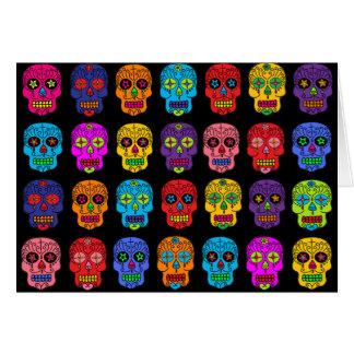 Customizable Sugar Skulls Greeting Card