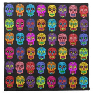 Customizable Sugar Skulls Napkin