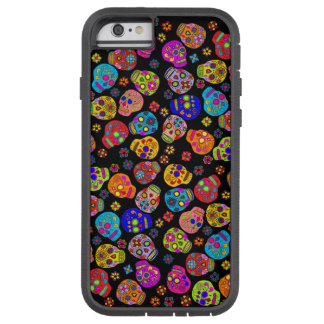 Customizable Sugar Skulls Tough Xtreme iPhone 6 Case
