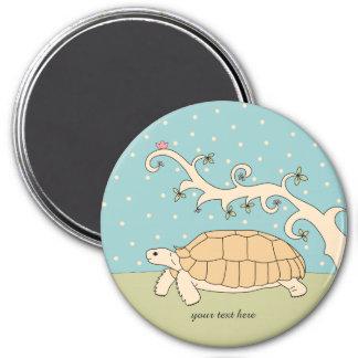 Customizable Sulcata Tortoise Magnet