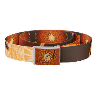 Customizable Sunset (Psychedelic spirograph) Belt