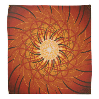 Customizable Sunset (Psychedelic spirograph) Do-rags