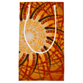 Customizable Sunset (Psychedelic spirograph) Small Gift Bag